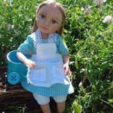 Марта. Авторская кукла Горчаковской Анны