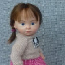 Дарина. Авторская кукла Горчаковской Анны