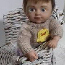 Андрюша. Авторская кукла Горчаковской Анны