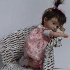 Вика. Авторская кукла Горчаковской Анны