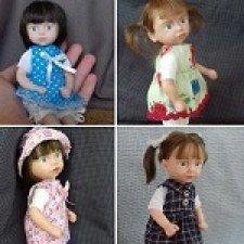 Маленькие девочки. Авторские куклы Горчаковской Анны
