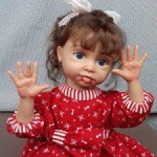 Мамино Счастье. Авторская кукла Горчаковской Анны
