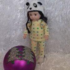 Панда. Авторская кукла Горчаковской Анны