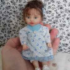 Ксюша. Авторская кукла Горчаковской Анны