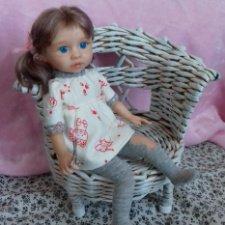 Катя. Авторская кукла Горчаковской Анны