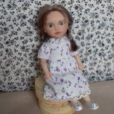 Лиза. Авторская кукла Горчаковской Анны