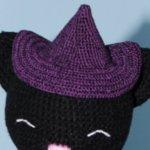Юлька, ведьминская кошка. Авторская игрушка своими руками