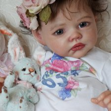 Девочка весна. Кукла реборн Наталии Коноваловой
