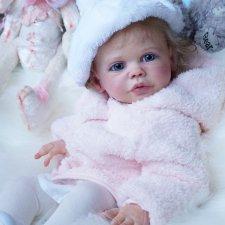 Первая малышка 2018 года. Maxi. Кукла реборн Наталии Коноваловой.