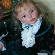 Волшебная Венера,эльфийская девочка. Прототип молда от Ольги Ченской.Кукла реборн Наталии Коноваловой