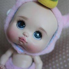 Шарнирная малышка от Лели Дубровиной Baby Boo Единорожка