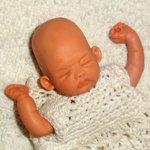 Рождение новой мини куклы от Анастасии Солнцевой