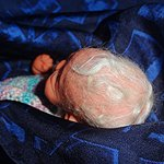 А мы наконец-то проснулись! Авторская мини кукла Анастасии Солнцевой