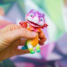 Радужный дракончик от Жуковой Марии