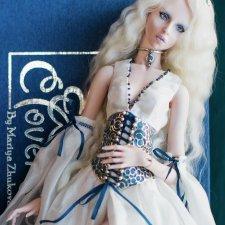 Элис, Лунная фея, фарфоровая кукла от Жуковой Марии