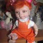 Хулиганка Женька, авторская кукла
