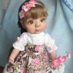 Знакомьтесь Дарья. Авторская кукла Елены Никитиной