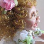Мишелька, авторская кукла Елены Никитиной