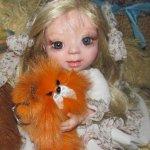 Аришка – авторская кукла Никитиной Елены