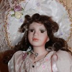 Красавица, фарфоровая кукла от Angel Collection