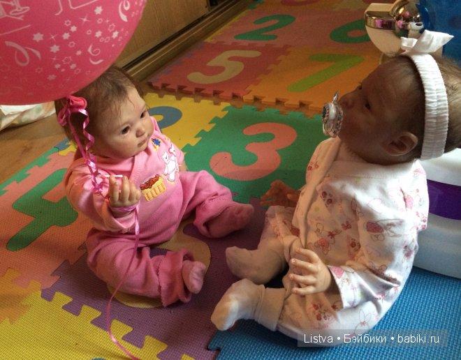 Куколки Светланы Преображенской и Ирины Дмитриевой