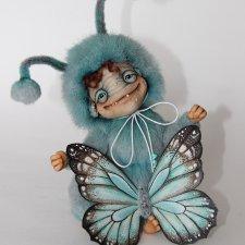ЖуЖик - Голубая бабочка