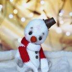 Мастер класс по созданию снеговичка-тедди в Москве