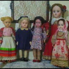 Мои русские антикварные девочки