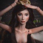 Фарфоровая кукла Дарьи Ворон