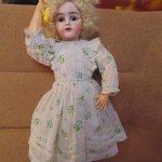 Антикварные куклодочки, или, новые бусинки из моей коллекции