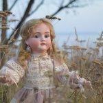 Юная скрипачка. Эсмина, или антикварная кукла от Kley&Hahn, отливка Walkure