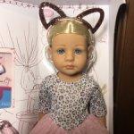 Яркая блондинка Элли из новой коллекции кукол Gotz 36 см.