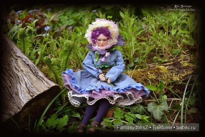 """авторские коллекционные куклы из серии """"Жители волшебного леса"""""""