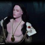 Наг Найян, мужчина-змей, авторская коллекционная кукла.