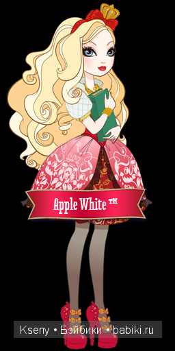Биография Эппл Вайт. Ever After High, Apple White