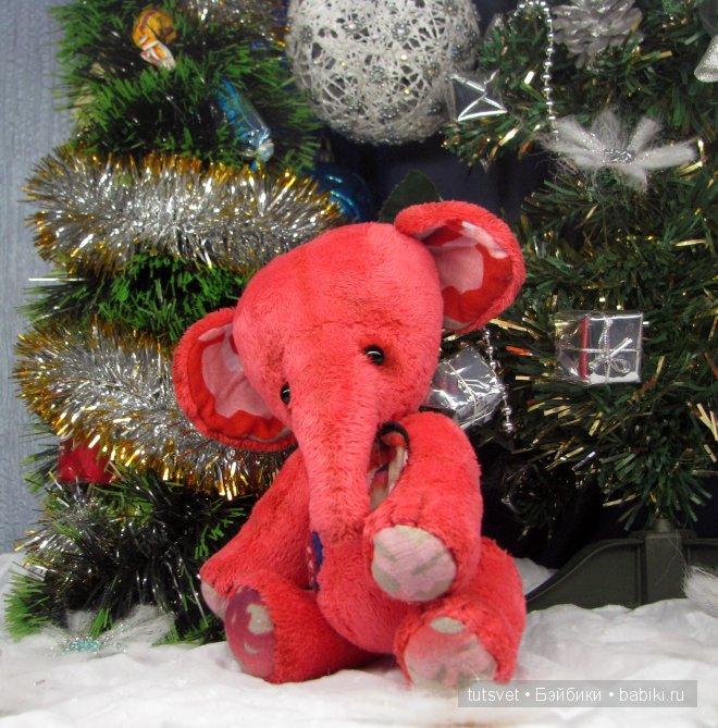 Розовый слоник Дучик