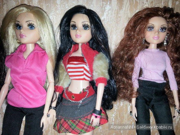 Три сестрички Тристен - блондинка с голубыми глазами Саманта, брюнетка с синими глазами Сабрина и рыжеволосая с серыми (фиалковыми) глазами Ребекка