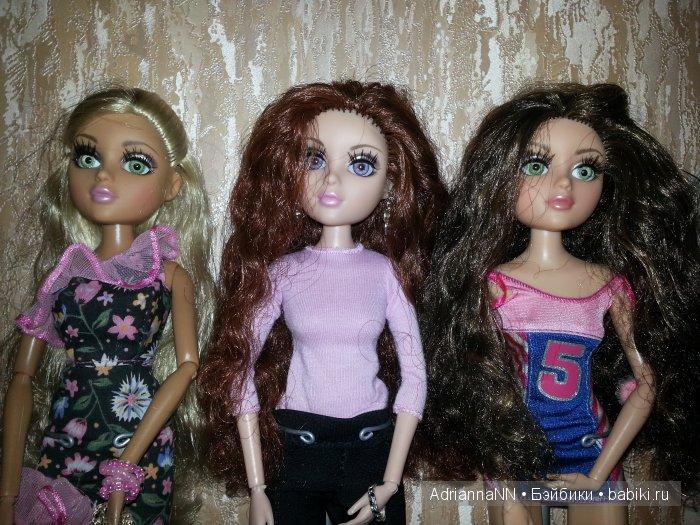 Две зеленоглазки и одна рыжуля)) Мел, Трис и Лея.