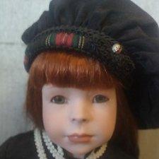 Коллекционная фарфоровая кукла Джулия