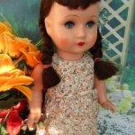 Кукла из папье-маше послевоенного периода.