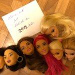 Головы от Барби