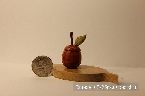 яблоко - домик