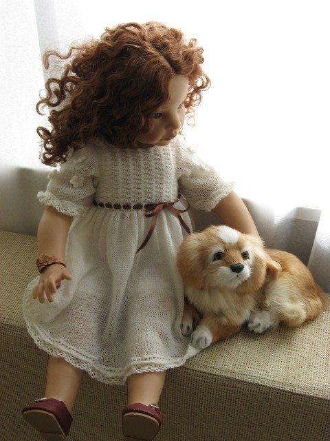 Собака для кукол своими руками
