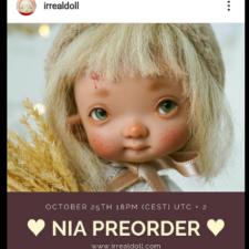 Новый преордер на irrealdoll Nia