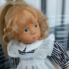 Шикарная блондинка из серии Fanouche and her friends