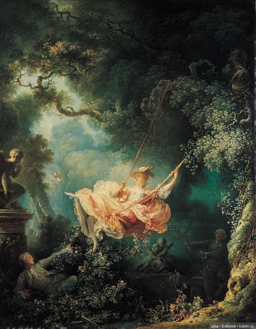 jean honore fragonard the swing texture element The french painter jean-honoré fragonard was born on this day in 1732 his work constitutes a further elaboration of the.