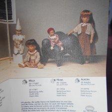 Каталог кукол Gotz от Sylvia Natterer - маленький, но интересненький