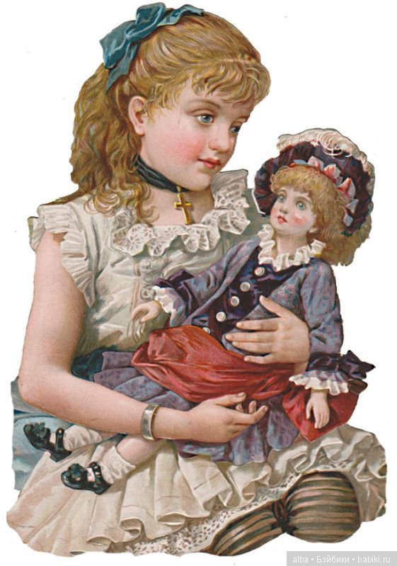 были картинка кукла для декупажа правильном свете