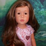 Кукла GOTZ Готц Германия Прекрасная Лаура Снегурочка с веснушками