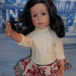 Кукла GOTZ Готц Германия Шарлотт Снегурочка Брюнетка